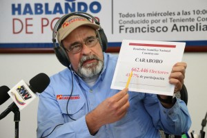 La paz triunfó en Carabobo  con más de 662 mil votos