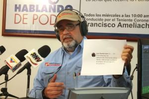 """MUD y sus candidatos insisten en """"ahogar"""" al pueblo venezolano"""