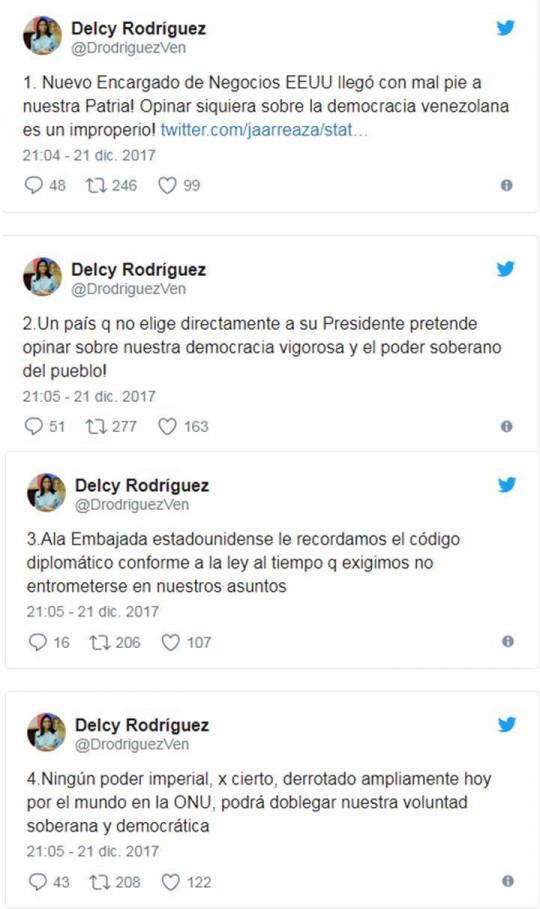 Delcy Rodríguez: Ningún poder imperial podrá doblegar la voluntad soberana y democrática