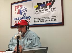 Ameliach: Es un gran orgullo haber contado con la confianza de Chávez