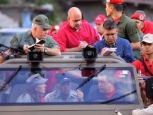 Recorrido con el Comandante Hugo Chávez